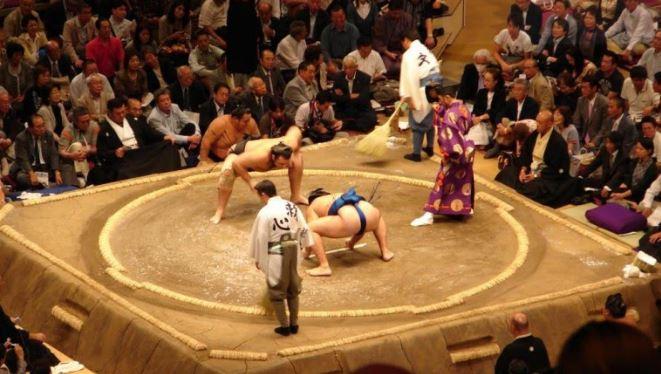 thi đấu sumo