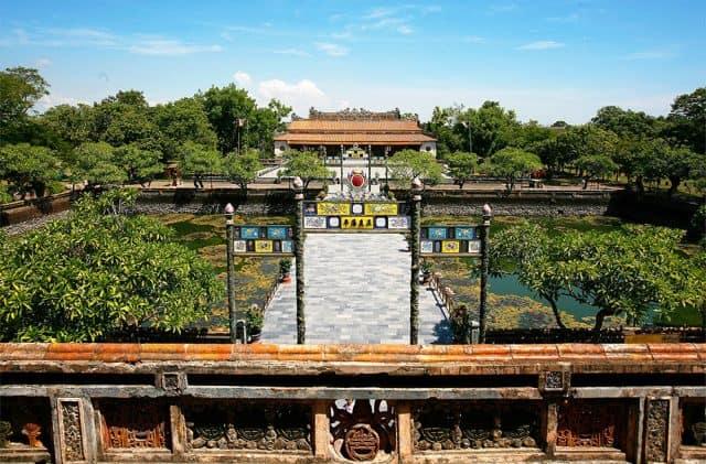 Điện Thái Hòa Huế- địa điểm các vị vua triều Nguyễn đăng quang