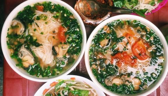 quán bún ngon ở Hà Nội
