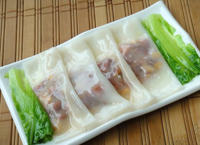 Bánh cuốn Quảng Châu
