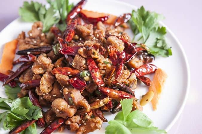 Gà Trùng Khánh khô cay